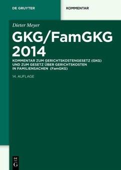 GKG/FamGKG 2014 (eBook, PDF) - Meyer, Dieter