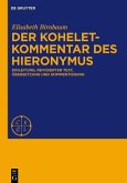Der Koheletkommentar des Hieronymus (eBook, PDF)