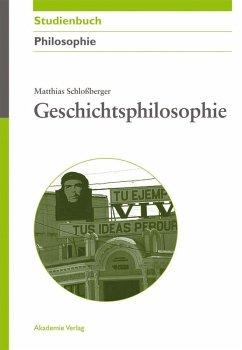 Geschichtsphilosophie (eBook, PDF) - Schloßberger, Matthias