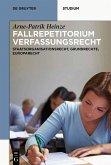 Systematisches Fallrepetitorium Verfassungsrecht (eBook, ePUB)