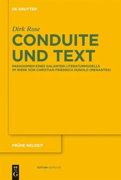 Conduite und Text (eBook, PDF) - Rose, Dirk