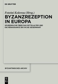 Byzanzrezeption in Europa (eBook, PDF)