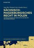 Sächsisch-magdeburgisches Recht in Polen (eBook, PDF)
