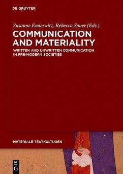 Communication and Materiality (eBook, ePUB)