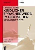 Kindlicher Spracherwerb im Deutschen (eBook, PDF)