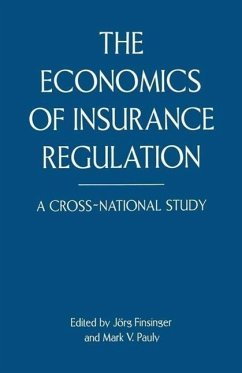 The Economics of Insurance Regulation - Sommers, Nancy; Pauly, Mark V.