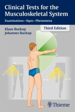 Clinical Tests for the Musculoskeletal System - Buckup, Johannes