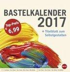 Bastelkalender 2017 groß champagner
