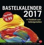 Bastelkalender 2017 groß schwarz