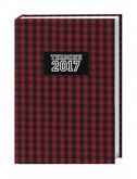 Karo 17-Monats-Kalenderbuch A6 - 2017
