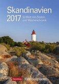 Skandinavien 2017 Wochenplaner