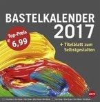 Bastelkalender 2017 groß anthrazit