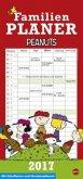 Peanuts Familienplaner - Kalender 2017