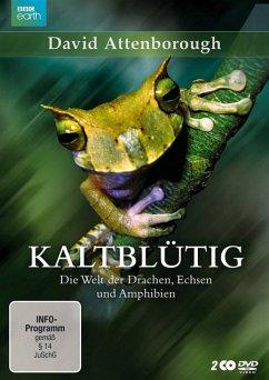 Kaltblütig - Die Welt der Drachen, Echsen und Amphibien - 2 Disc DVD - Attenborough,David (Presenter)
