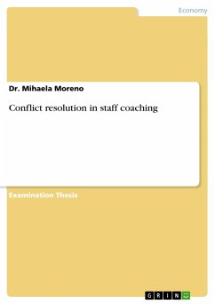 Conflict resolution in staff coaching