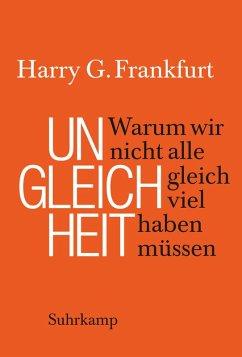 Ungleichheit (eBook, ePUB) - Frankfurt, Harry G.