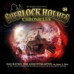 Das Rätsel der Ansichtskarten / Sherlock Holmes Chronicles Bd.34 (Audio-CD)