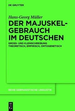 Der Majuskelgebrauch im Deutschen (eBook, ePUB) - Müller, Hans-Georg