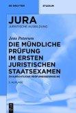 Die mündliche Prüfung im ersten juristischen Staatsexamen (eBook, ePUB)