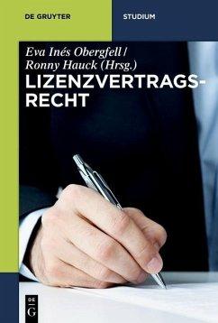 Lizenzvertragsrecht (eBook, PDF)