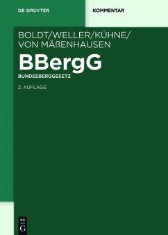 BBergG Bundesberggesetz (eBook, ePUB)