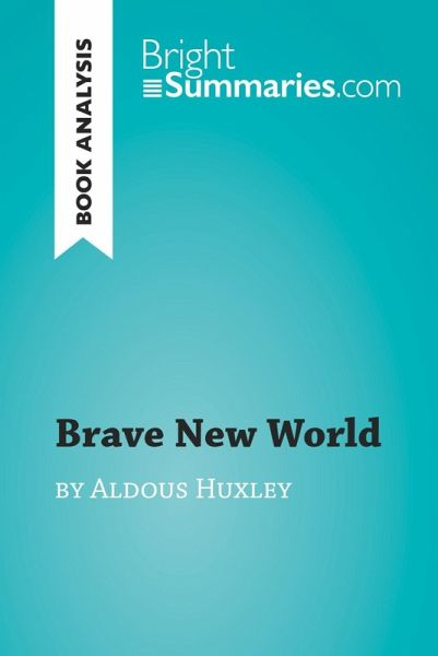 an analysis of the chapters in the book brave new world by aldous huxley Brave new world summary - brave new world by aldous huxley summary and analysis  the book starts out by introducing us to the central london hatchery and .