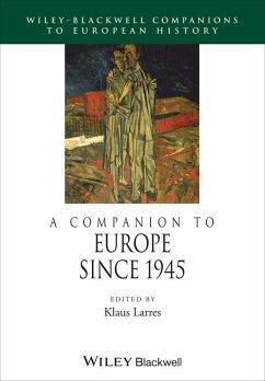 A Companion to Europe Since 1945 (eBook, ePUB)