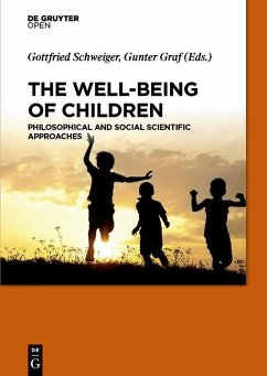 The Well-Being of Children (eBook, PDF)