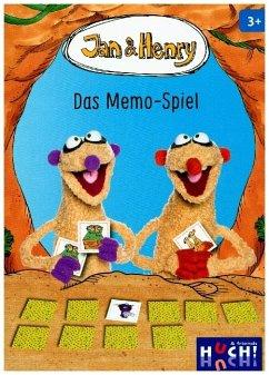 Jan & Henry, Das Memo-Spiel (Kinderspiel)