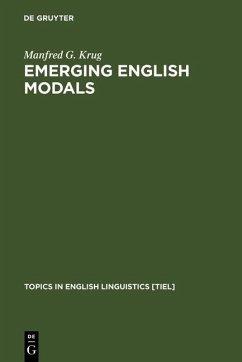 Emerging English Modals (eBook, PDF) - Krug, Manfred G.