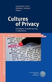Cultures of Privacy (eBook, PDF)