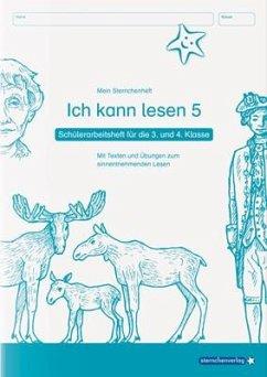 Ich kann lesen 5 - Schülerarbeitsheft für die 3. und 4. Klasse - Langhans, Katrin