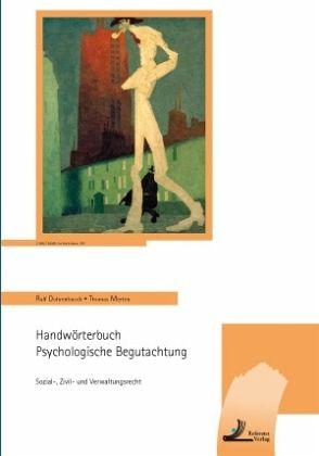 Bildergebnis für ralf dohrenbusch handwörterbuch psychologische begutachtung