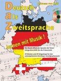 Deutsch als Zweitsprache, lernen mit Musik (+CD)