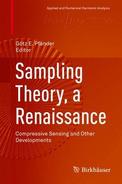 Sampling Theory, a Renaissance (eBook, PDF)