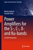 Power Amplifiers for the S-, C-, X- and Ku-bands (eBook, PDF)