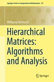 Hierarchical Matrices: Algorithms and Analysis (eBook, PDF)