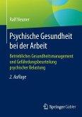 Psychische Gesundheit bei der Arbeit (eBook, PDF)