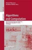 Algorithms and Computation (eBook, PDF)
