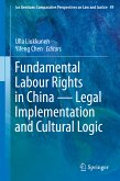 Fundamental Labour Rights in China - Legal Implementation and Cultural Logic (eBook, PDF)