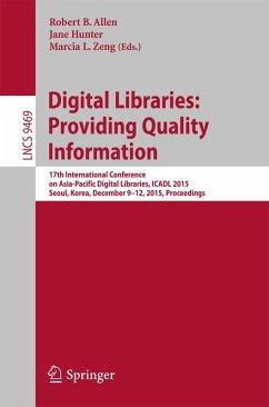 Digital Libraries: Providing Quality Information (eBook, PDF)
