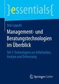 Management- und Beratungstechnologien im Überblick (eBook, PDF)