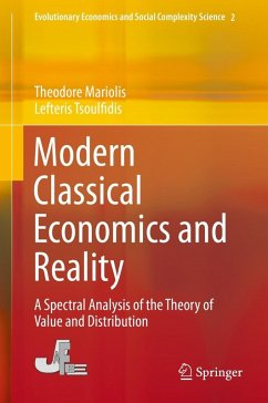 Modern Classical Economics and Reality (eBook, PDF) - Mariolis, Theodore; Tsoulfidis, Lefteris