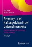 Beratungs- und Haftungsrisiken in der Unternehmenskrise (eBook, PDF)