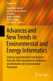 Advances and New Trends in Environmental and Energy Informatics (eBook, PDF)