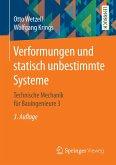 Verformungen und statisch unbestimmte Systeme (eBook, PDF)