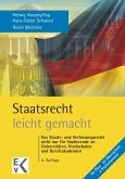 Staatsrecht - leicht gemacht (eBook, PDF)