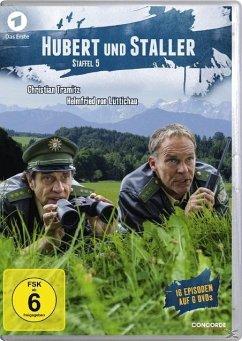 Hubert und Staller - Staffel 5 DVD-Box - Tramitz,Christian/Lüttichau,Helmfried Von