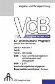 VOB Fassung 2016 für innerdeutsche Vergaben