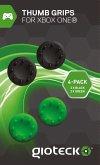 Analog Thumb Grips - Analog-Stick-Kappen 4er Pack - Schwarz/Grün